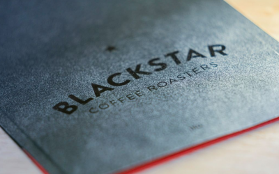 Black Star Coffee Roasters logo